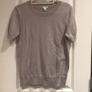 J.Crew Factory Scallop Edged T-Shirt Sweater - M